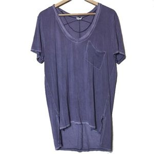 Free People We The Free Rising Sun Purple Tee Boho